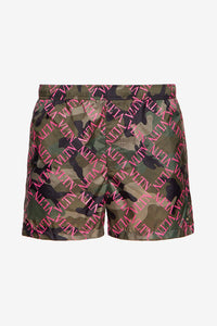 VLTN Grid Swim Shorts