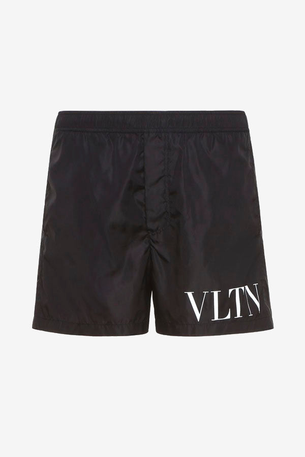 VLTN Swim Shorts in black