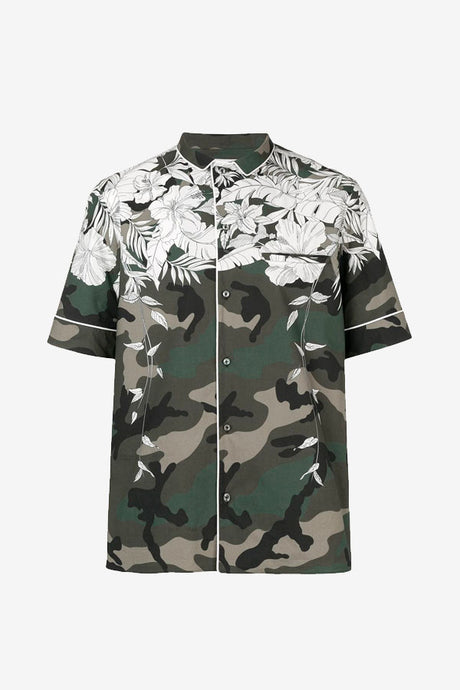 Hawaii printed polo shirt