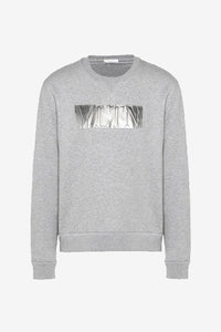Metallic VLTN Sweat Sweatshirt Grey Men Valentino