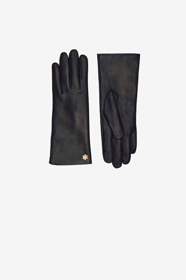Anna gloves by RHANDERS in black lambskin