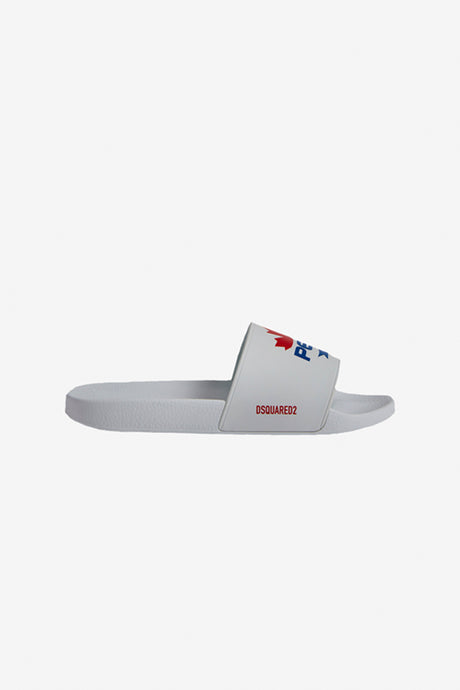 Dsquared2 Pepsi Slides with logo print on the front
