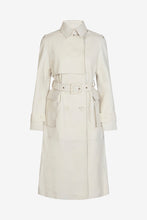 Pirello Trench Coat White