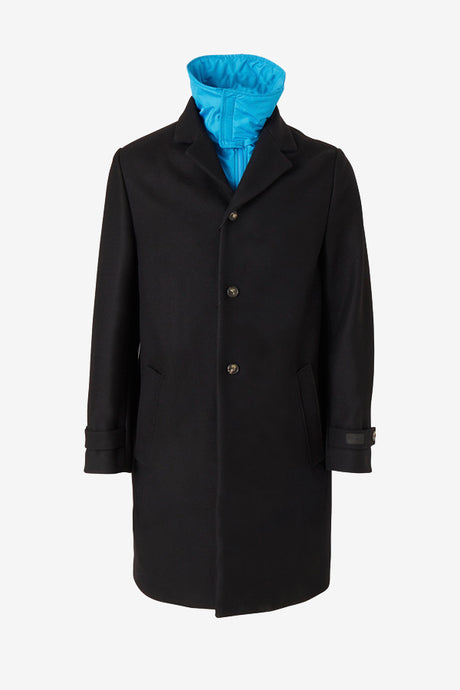 Overcoat in Black