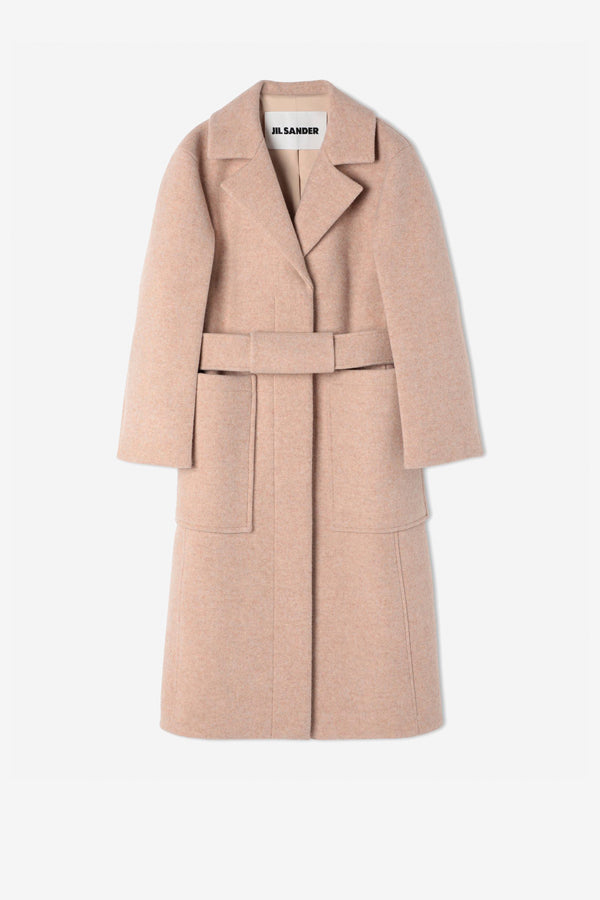 The Lab Coat in wool from Jil Sander