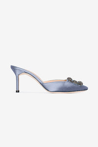 Hangisimu in Navy-grey by Manolo Blahnik