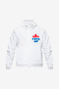 Dsquared2 X Pepsi windbreaker in white