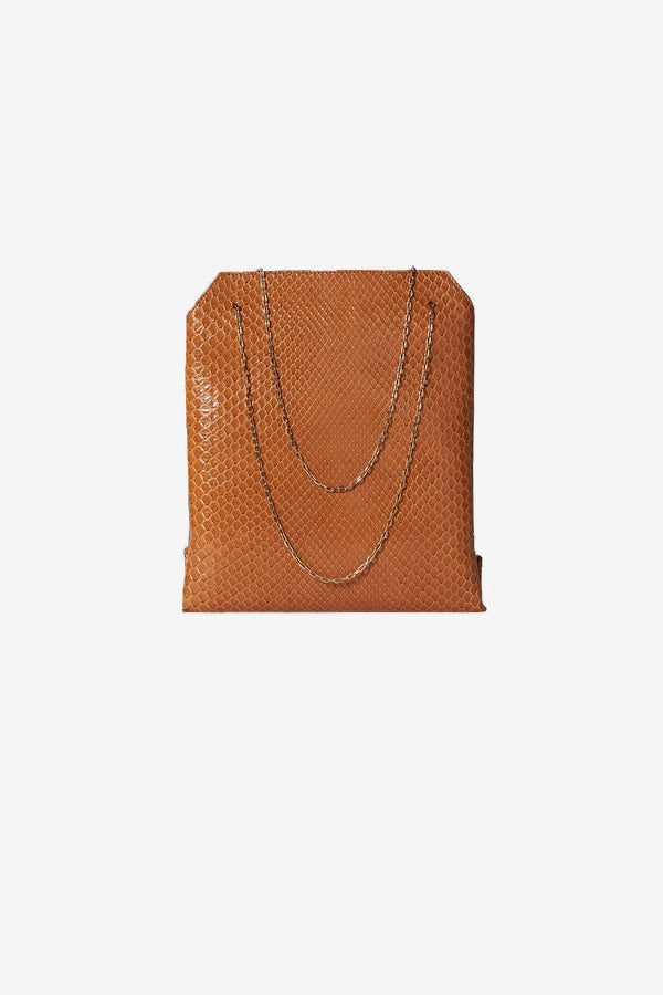 The ROW small lunch bag in camel