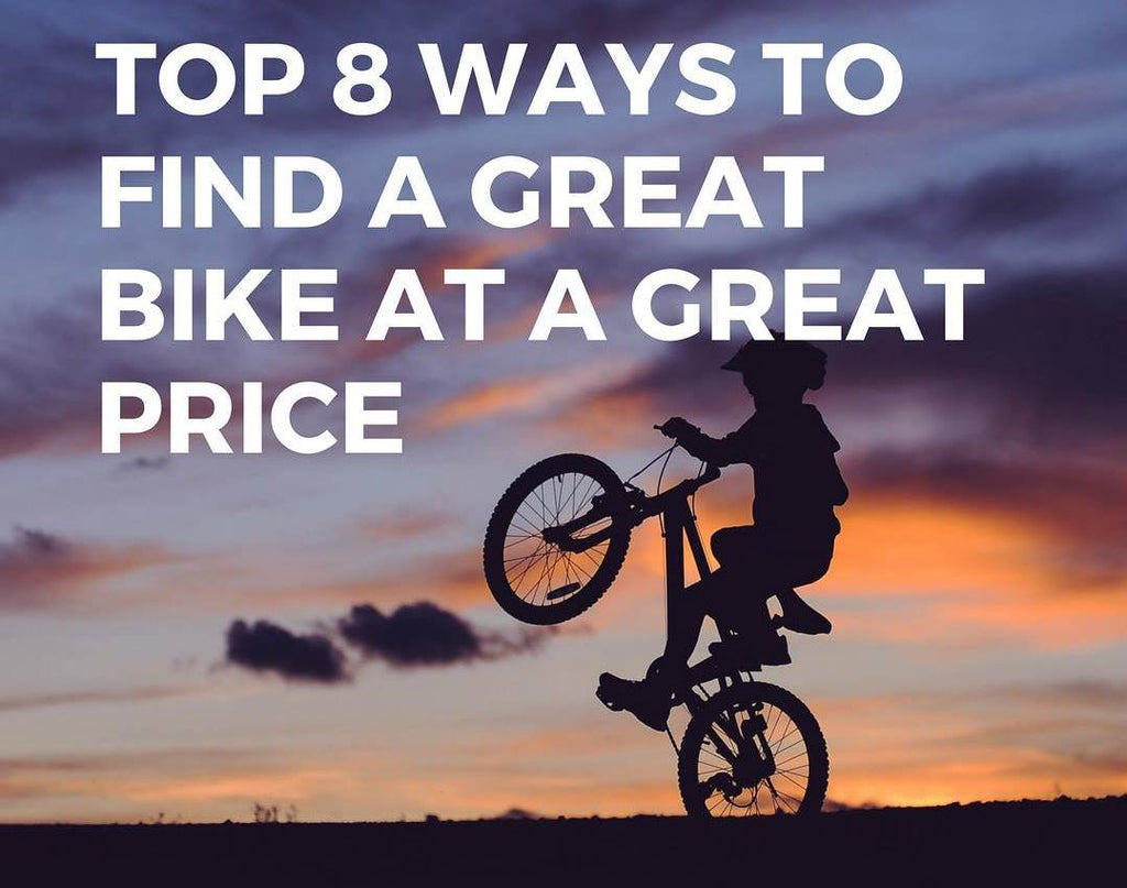 Top 8 Places to find a great deal on a bike