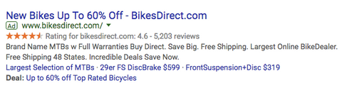 buying a direct to consumer bike