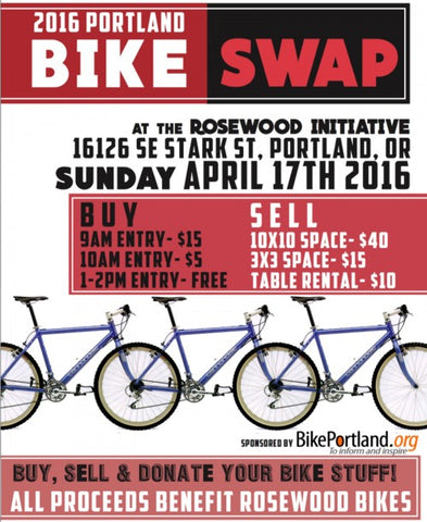 buying a bike at a bike swap