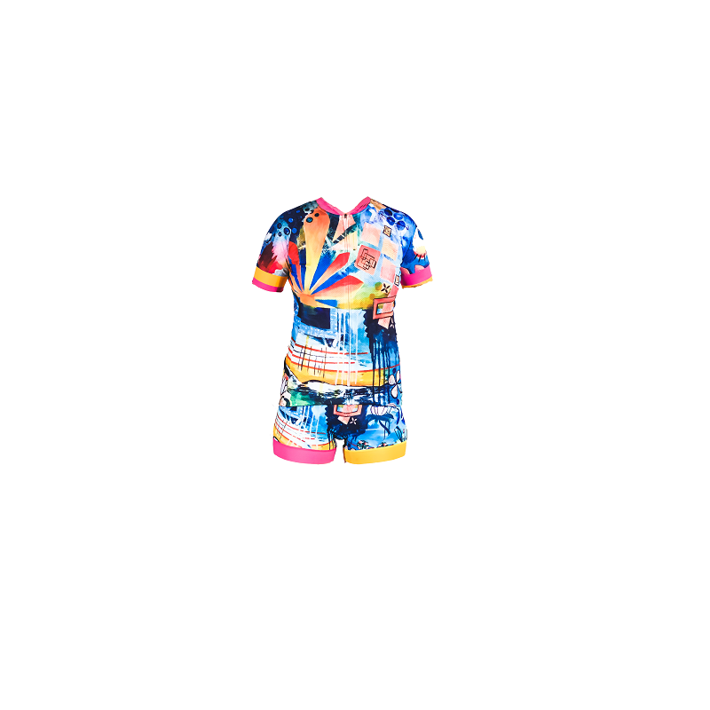 rising womens cycling kit and jersey