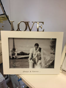 """Love"" Picture Frame"