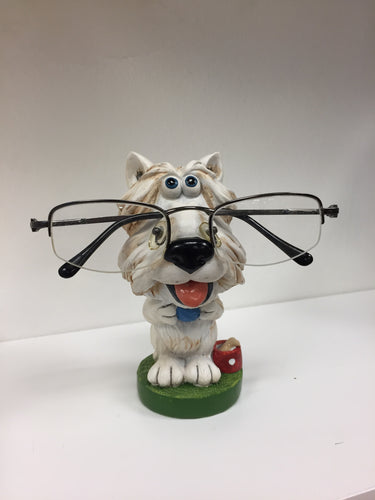 Dog Reading Glasses Holder