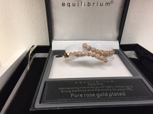 Ladies Plated with Pure Rose Gold Serpenti Bracelet for Women