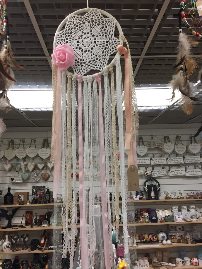 Handmade Dream Catcher with Hanging Ornament