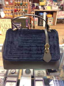 Navy & Gray Women's Bag - Bessie