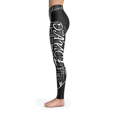Dance Terms Leggings