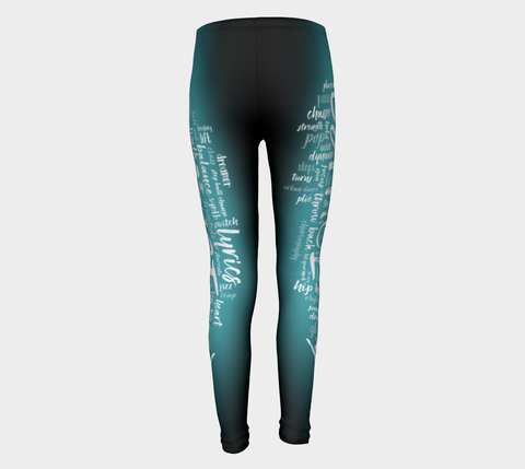 Dance Terms Youth Leggings
