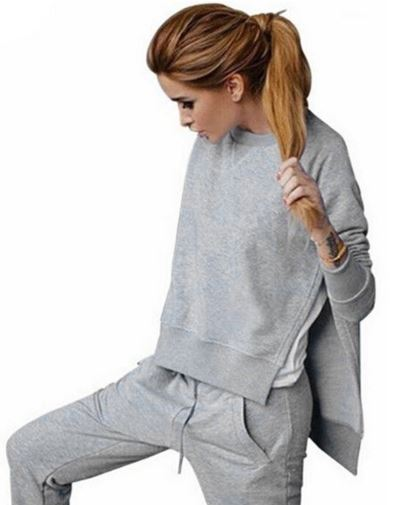 TRACKSUIT LONG SLEEVE SWEATSHIRT
