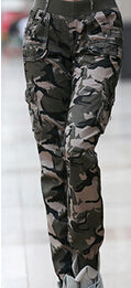 CAMOUFLAGE CARGO PANTS