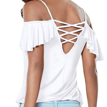 BACKLESS WOMEN T-SHIRT