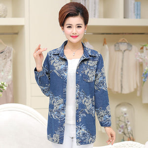New!! Cotton Jeans Coat for Women