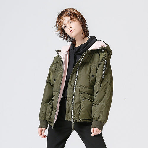 WOMEN CASUAL JACKET OVERCOAT ANTI-STATIC
