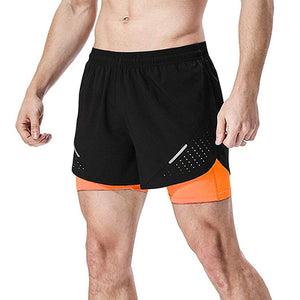 QUICK DRY SPORTS GYM TRAINING SHORTS FOR MEN