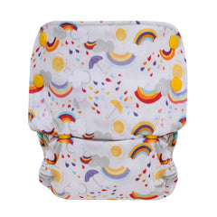 grovia rainbow cloth diaper
