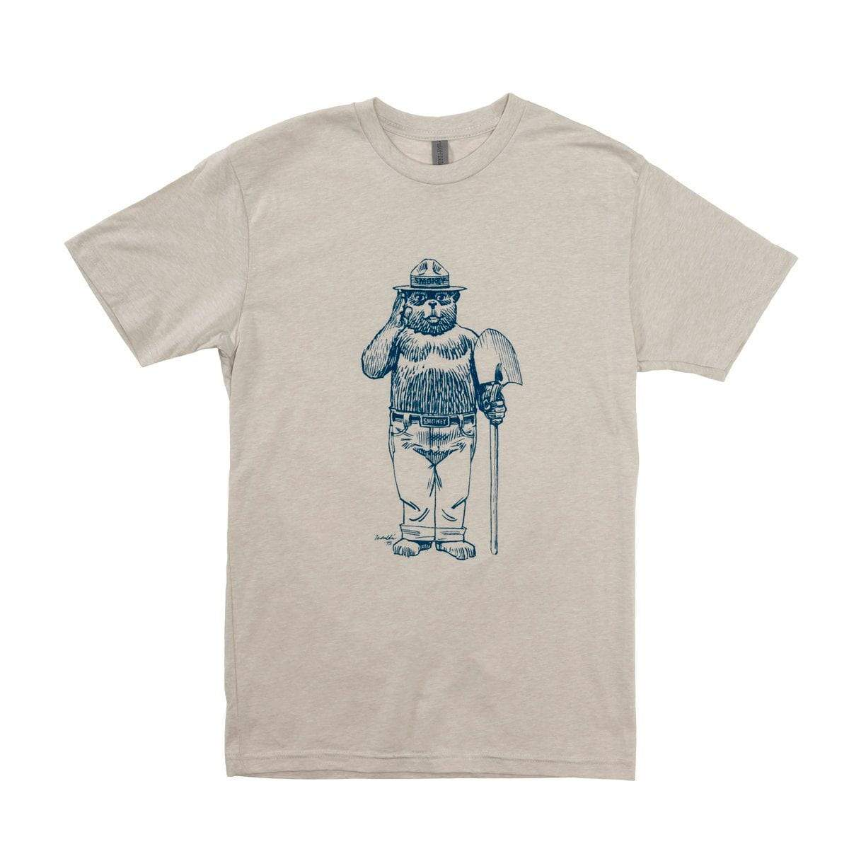 Accessories Adult Shirt- Smokey Bear