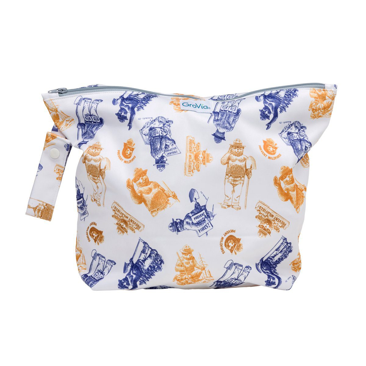 Laundry GroVia Zippered Wetbag - Only You