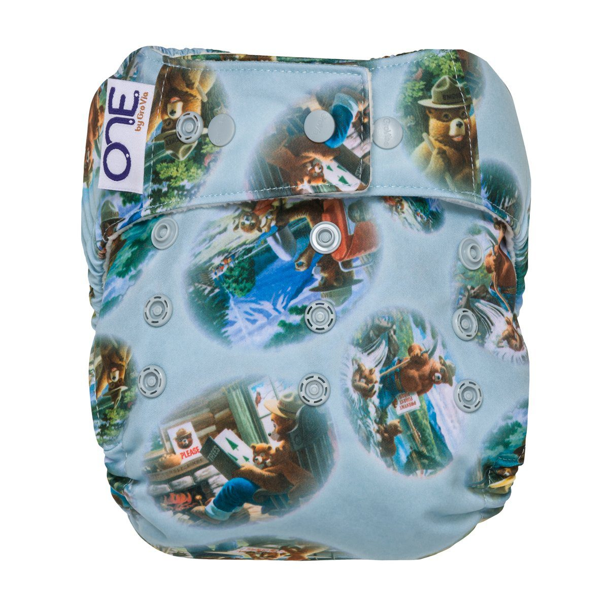 O.N.E. O.N.E. Cloth Diaper - Bear In Mind