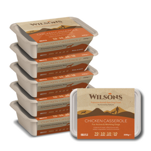 Wilsons Chicken Casserole Premium Raw Frozen Dog Food