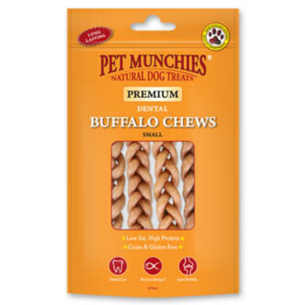 Pet Munchies Buffalo Chew - Dixie Doodles Pet Shop