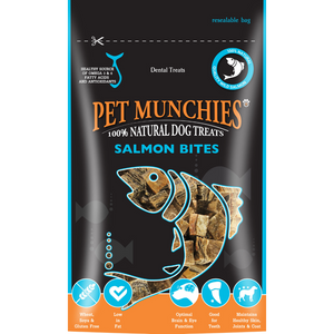 Pet Munchies Salmon Bites 90g