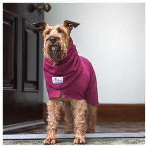 Dogrobe Burgundy - Dixie Doodles Pet Shop