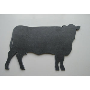 Slated - Beautiful Designs in Slate :: Cow - Dixie Doodles Pet Shop