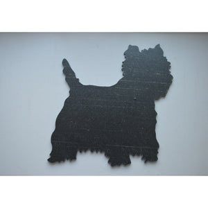 Slated - Beautiful Designs in Slate :: Westie - Dixie Doodles Pet Shop