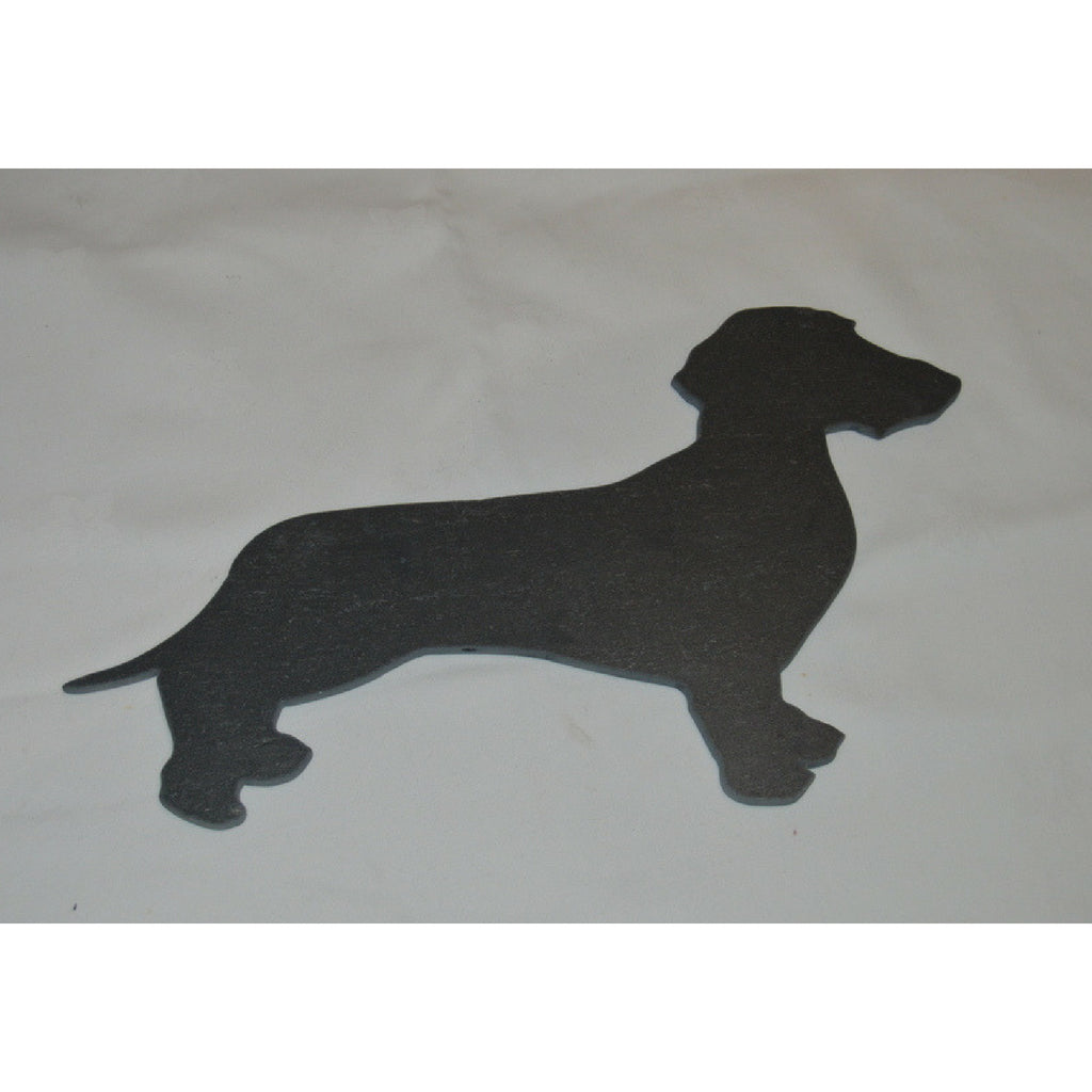 Slated - Beautiful Designs in Slate :: Dachshund (smooth) - Dixie Doodles Pet Shop