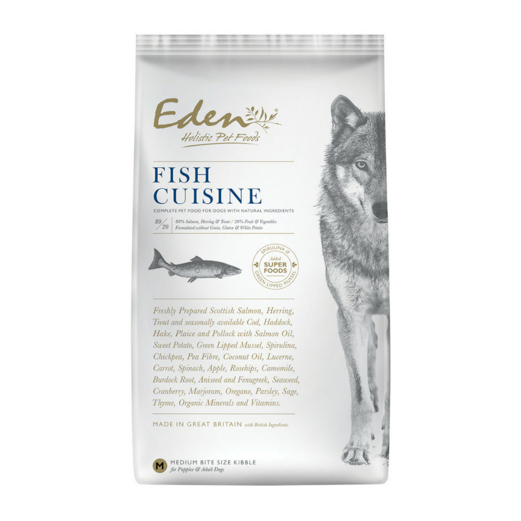 Eden 80/20 Fish Cuisine Medium Kibble - Dixie Doodles Pet Shop