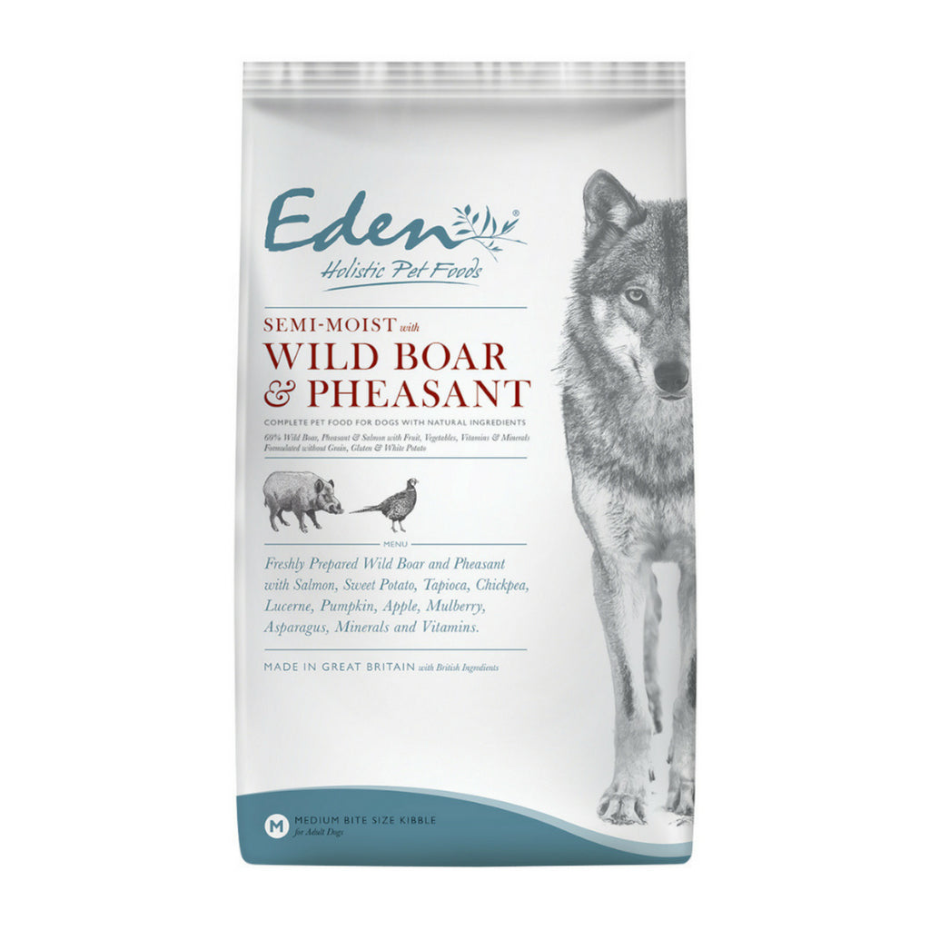 Eden Semi-Moist Wild Boar and Pheasant - Dixie Doodles Pet Shop