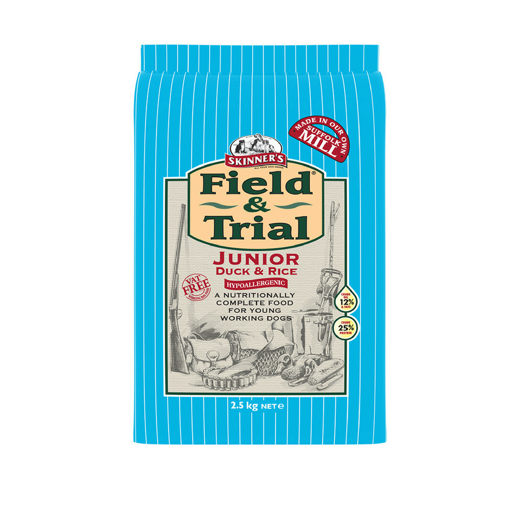 Skinners Field & Trial Duck & Rice Junior Dog Food - Dixie Doodles Pet Shop
