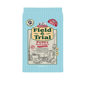 Skinners Field & Trial Puppy Duck & Rice Dog Food