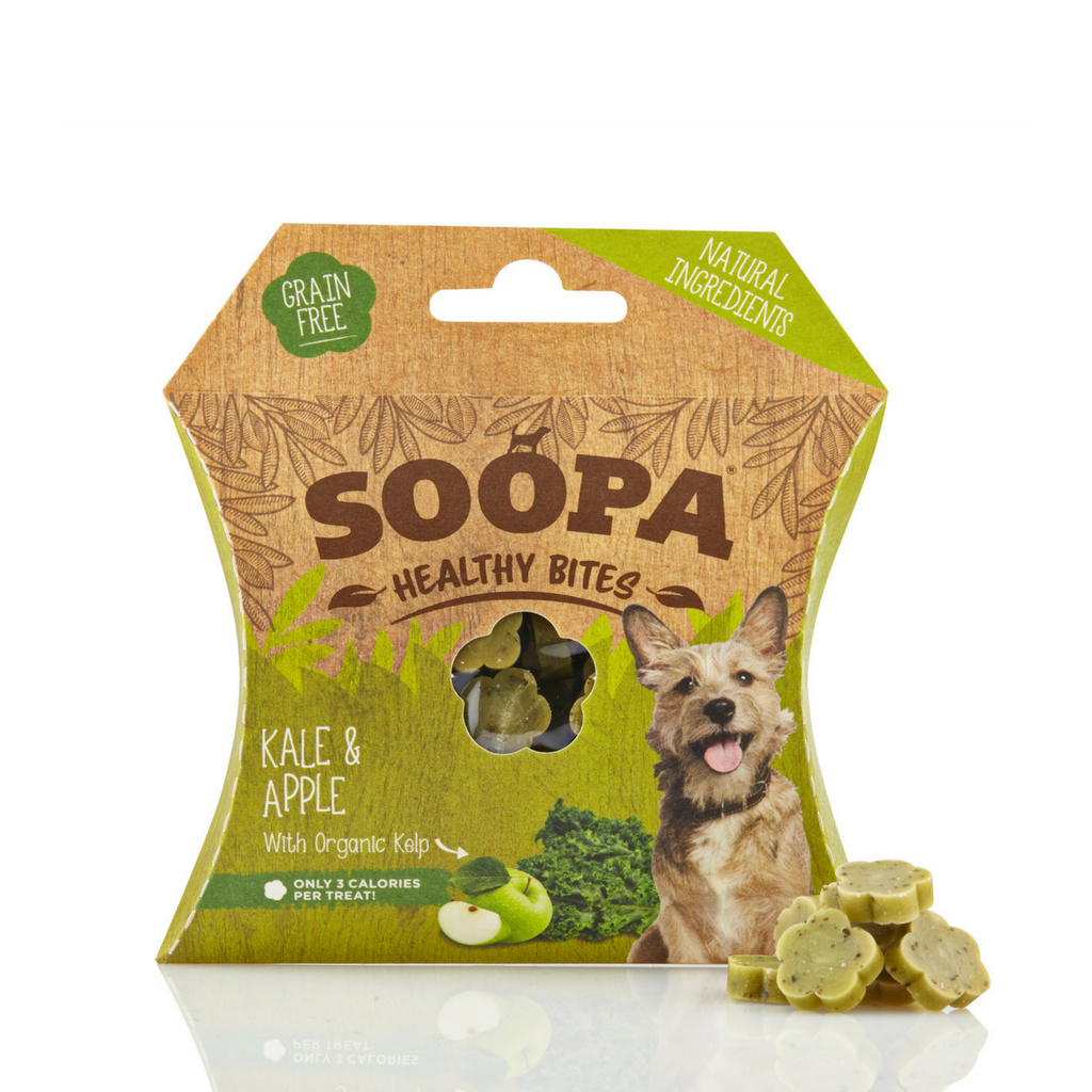 Soopa Kale & Apple Bites - Dixie Doodles Pet Shop