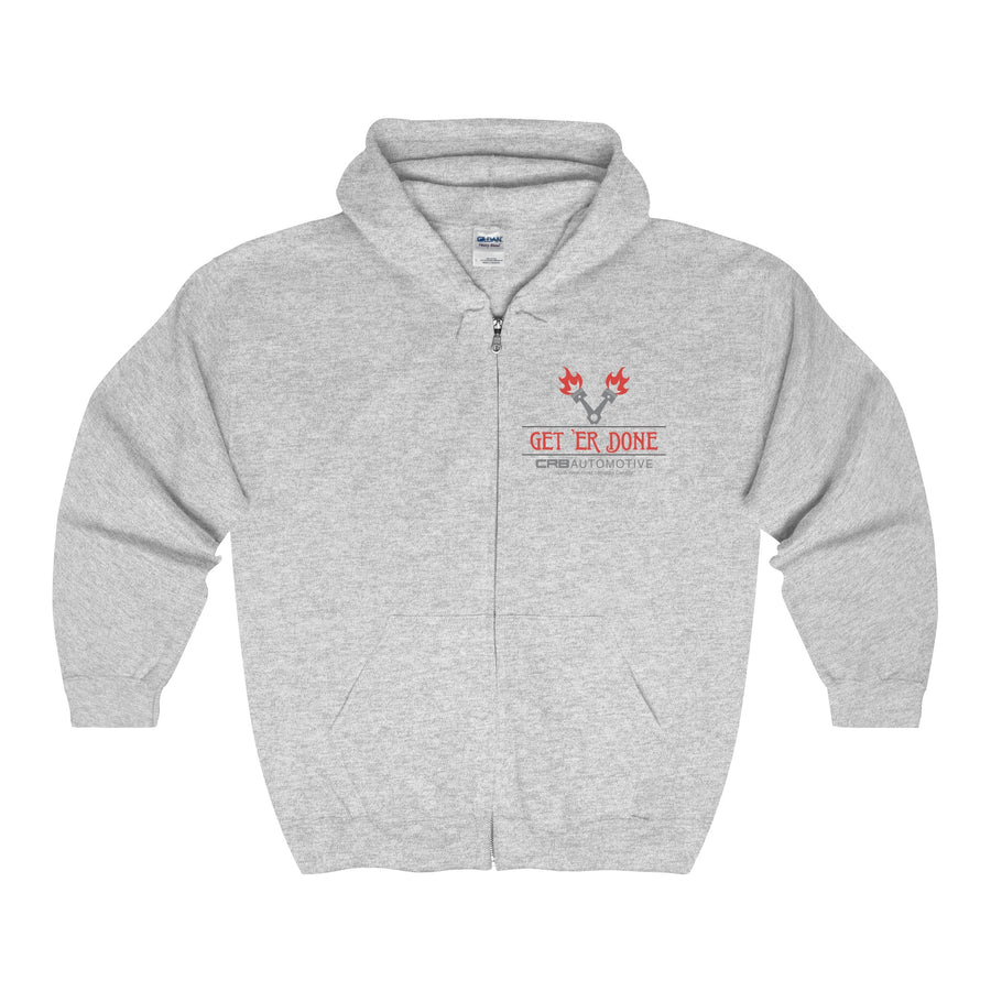 Get 'Er Done Garage Full Zip Hoodie