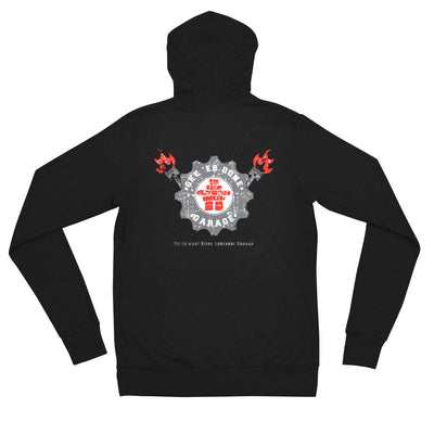 LSG SEASON 2 GET 'ER DONE GARAGE Zip Up HOODIE