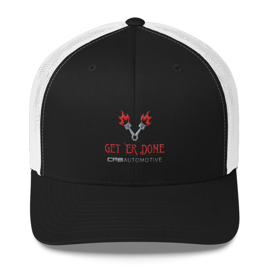 Get 'Er Done Garage Trucker Cap