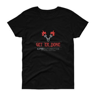 GET 'ER DONE GARAGE Women's short sleeve t-shirt