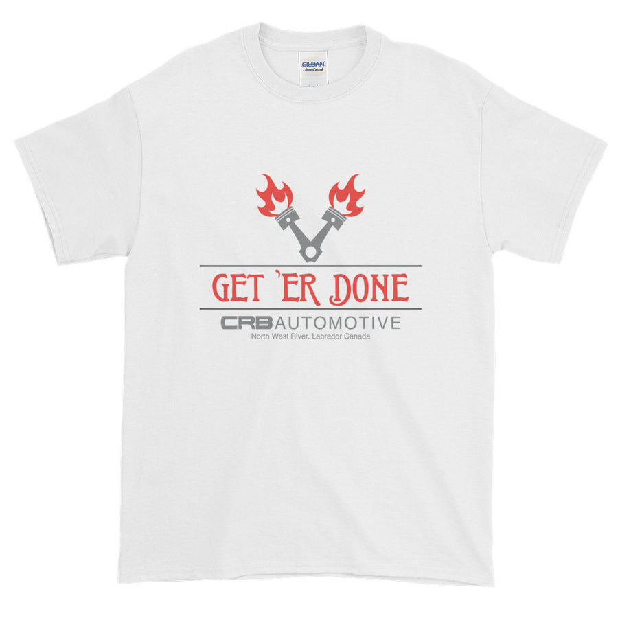 Get 'ER Done Garage Short-Sleeve Men's T-Shirt